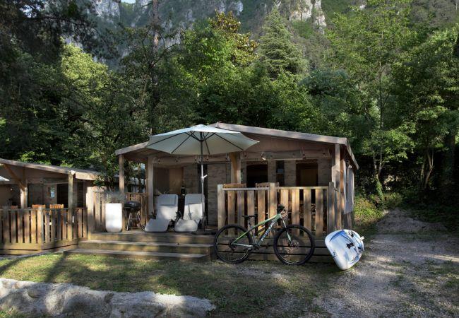 Bungalow/Linked villa in Idro - Safari Lodge Comfort
